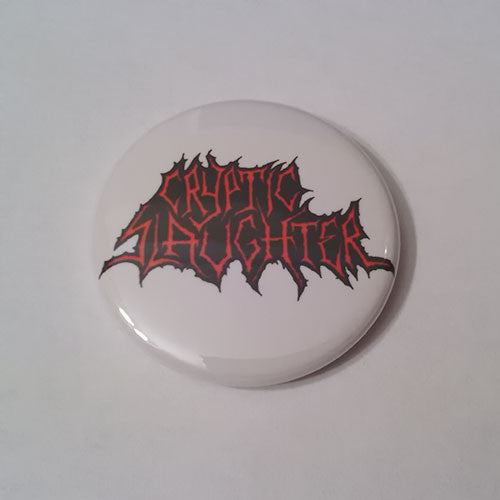 Cryptic Slaughter - Red Logo (Badge)