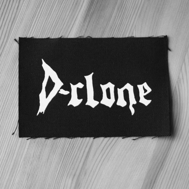 D-Clone - White Logo (Printed Patch)