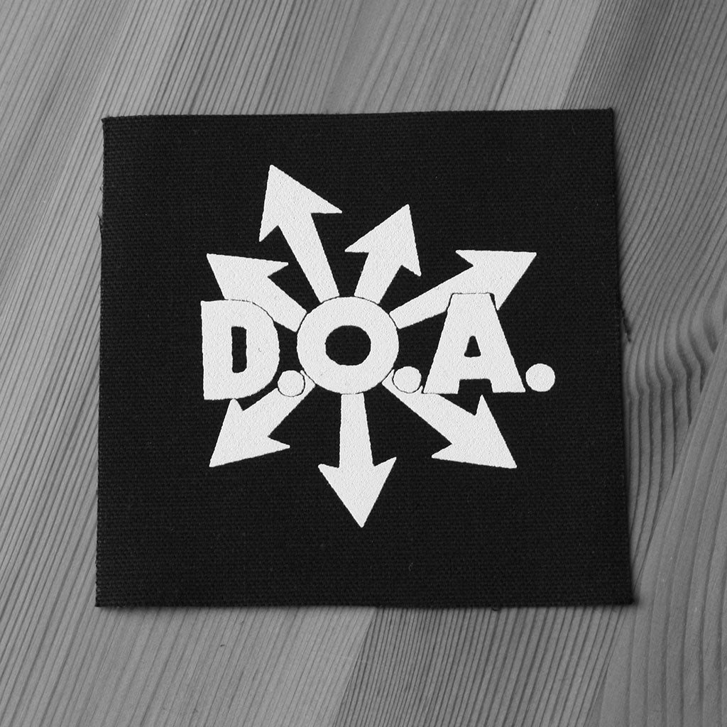 D.O.A. - Logo (Printed Patch)