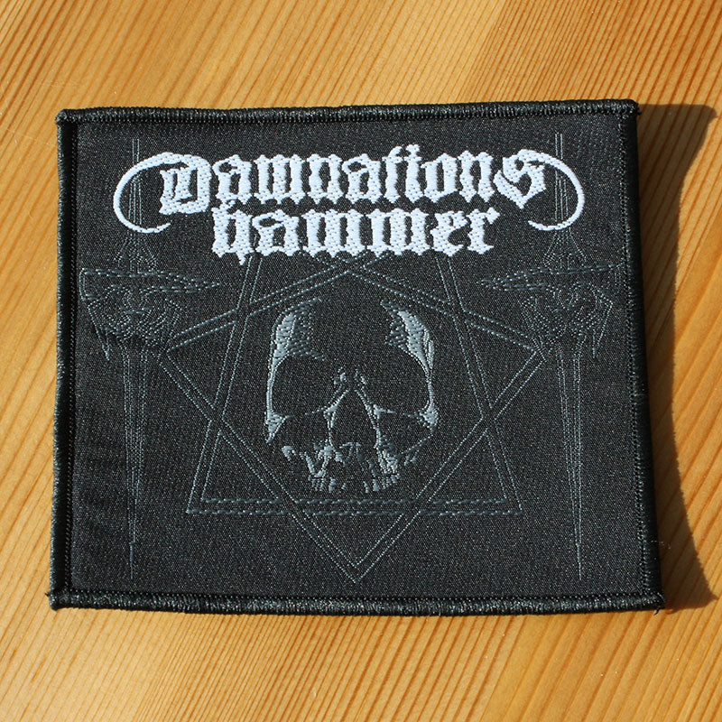 Damnation's Hammer - Skull & Hammers (Woven Patch)