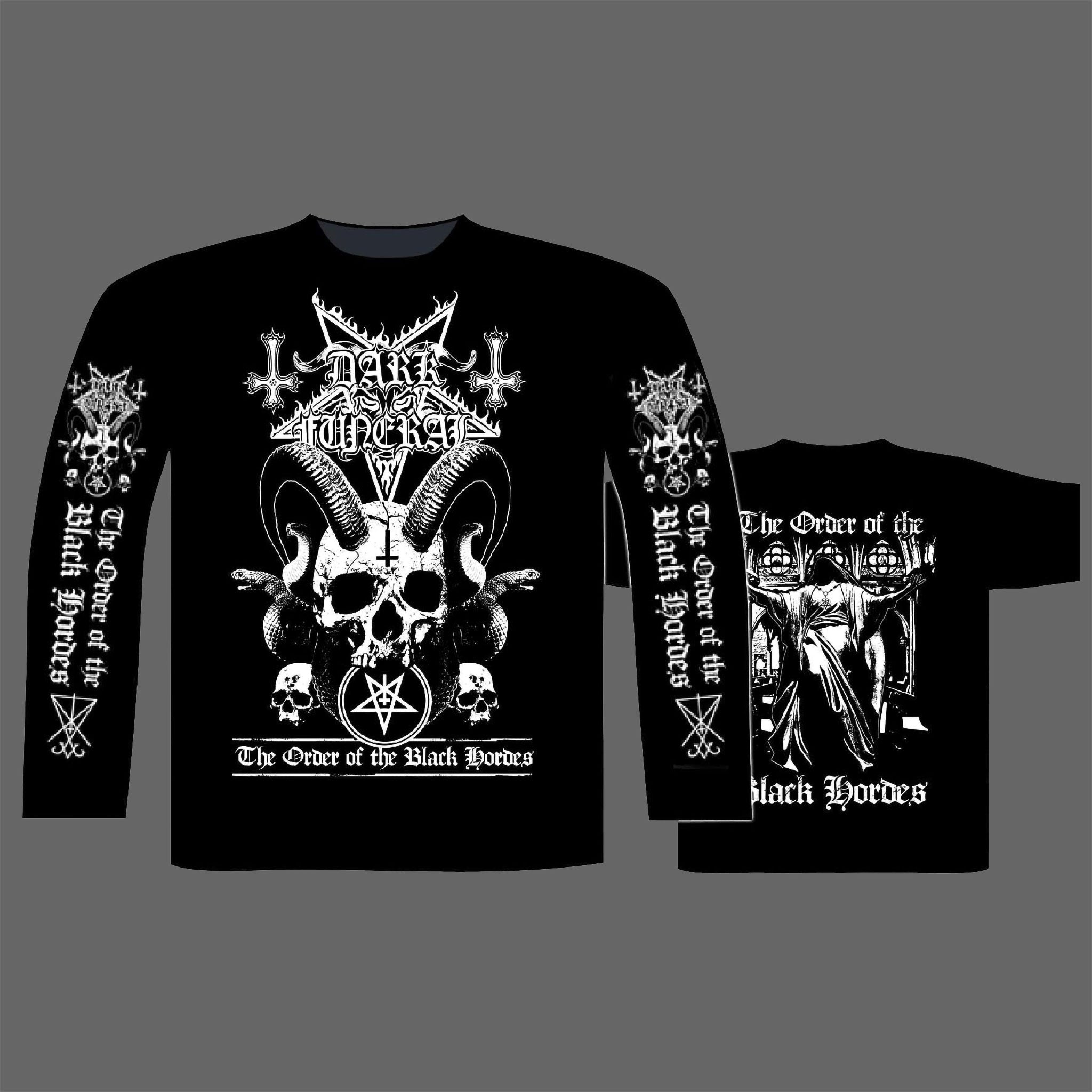 Dark Funeral - The Order of the Black Hordes (Long Sleeve T-Shirt)