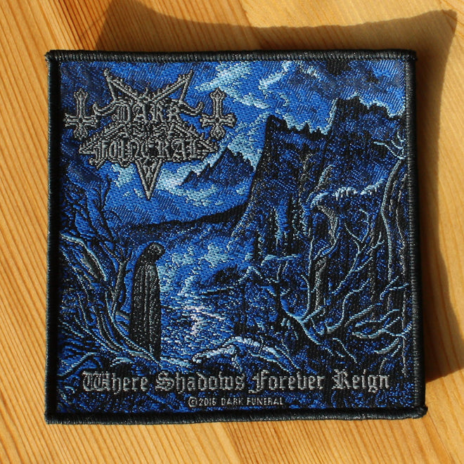 Dark Funeral - Where Shadows Forever Reign (Woven Patch)
