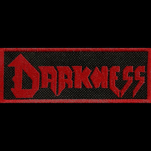Darkness - Red Logo (Embroidered Patch)