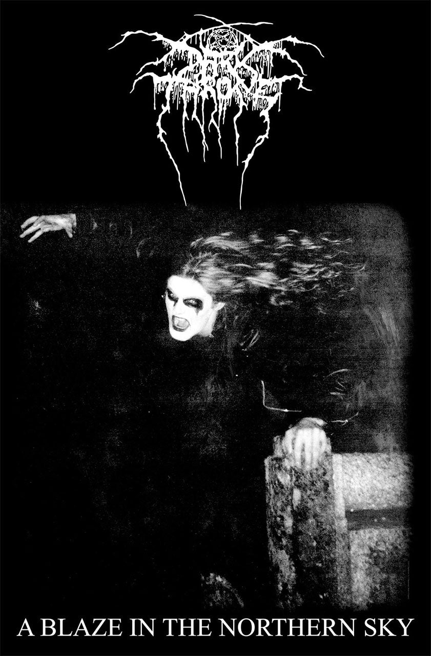 Darkthrone - A Blaze in the Northern Sky (Textile Poster)