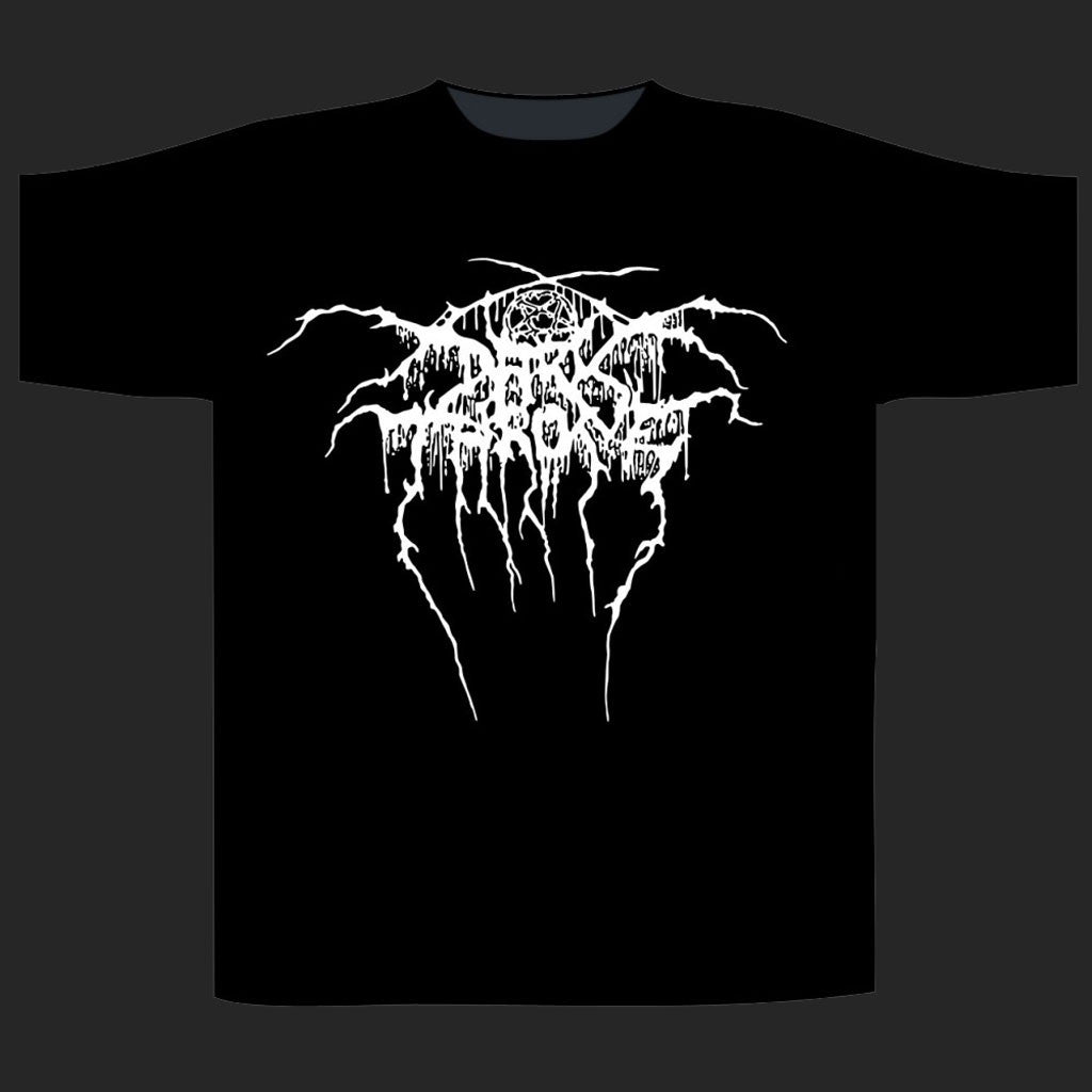Darkthrone - Logo / Baphomet (T-Shirt)