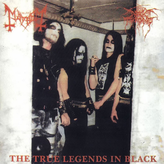 Darkthrone / Mayhem - The True Legends in Black (CD)