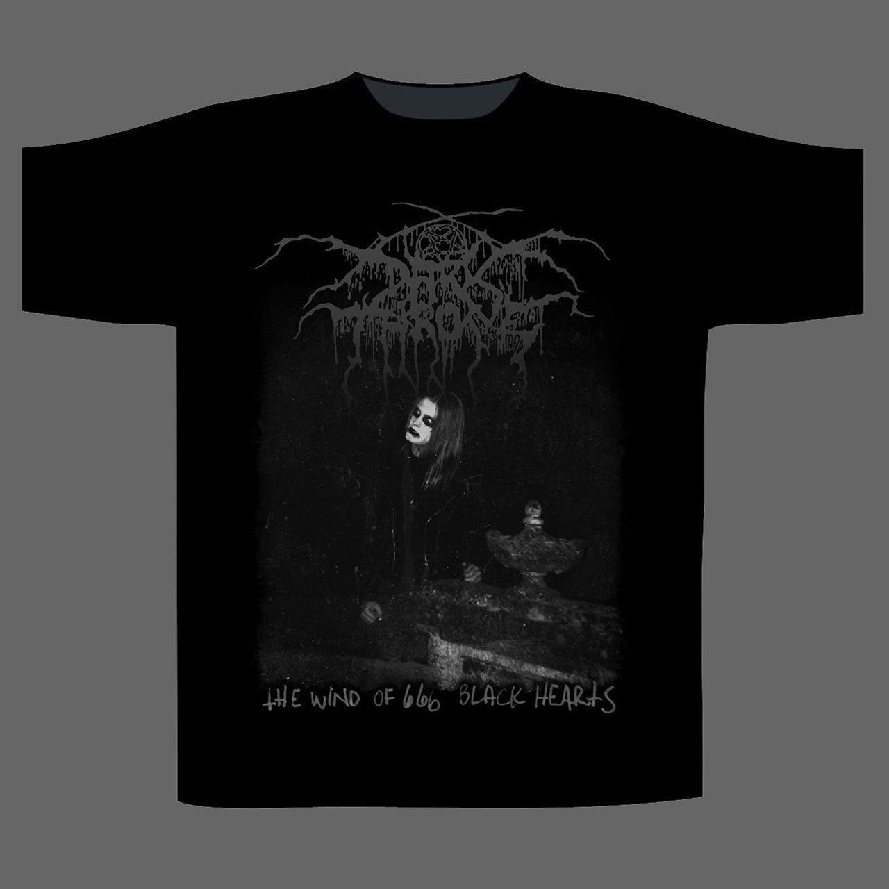 Darkthrone - The Wind of 666 Black Hearts (T-Shirt)