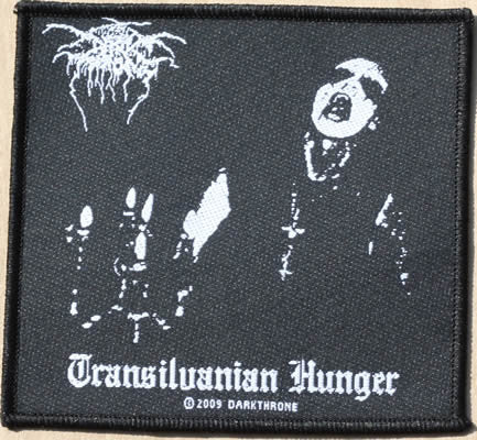 Darkthrone - Transilvanian Hunger (Woven Patch ...