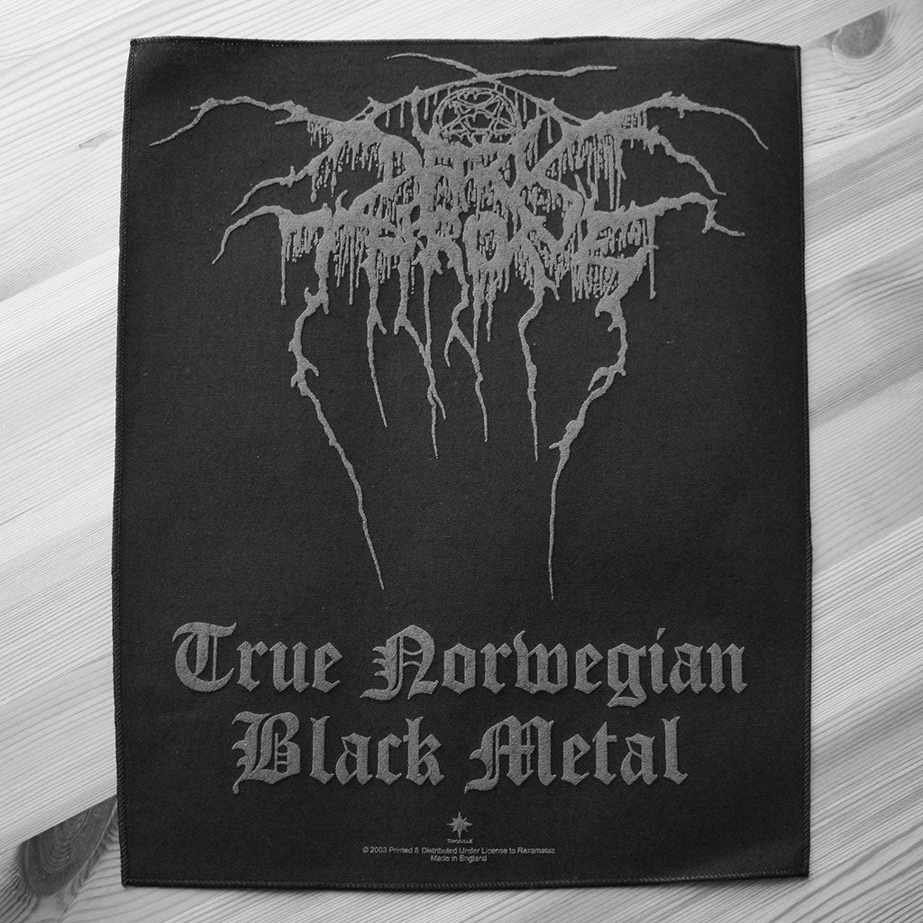 Darkthrone - True Norwegian Black Metal (Backpatch)