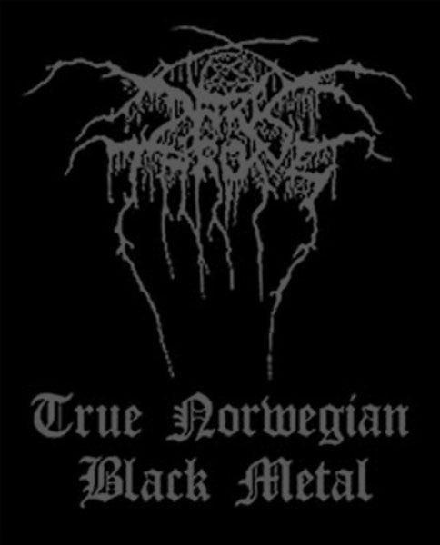 Darkthrone - True Norwegian Black Metal (Woven Patch)