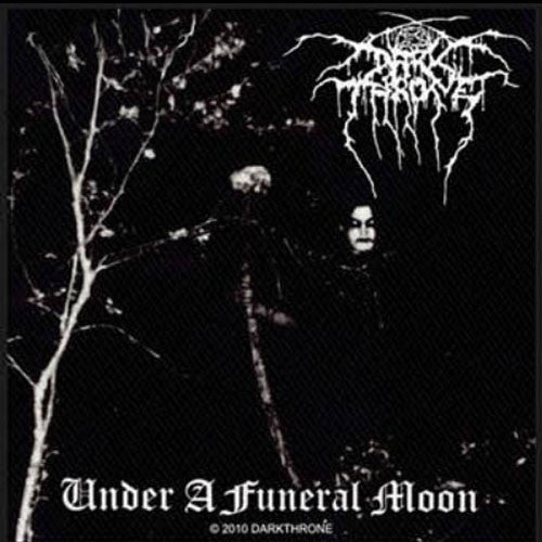 Darkthrone - Under a Funeral Moon (Woven Patch)