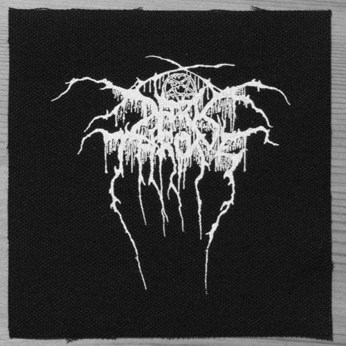 Darkthrone - White Logo (Printed Patch)