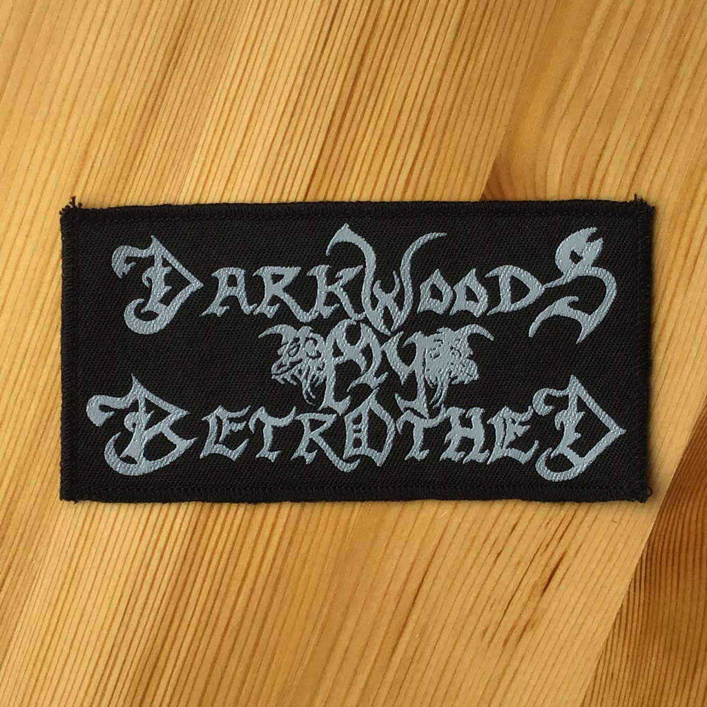Darkwoods My Betrothed - Logo (Printed Patch)