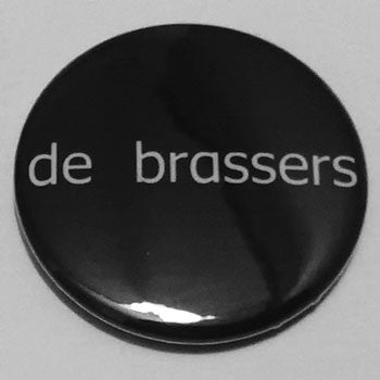 De Brassers - White Logo (Badge)