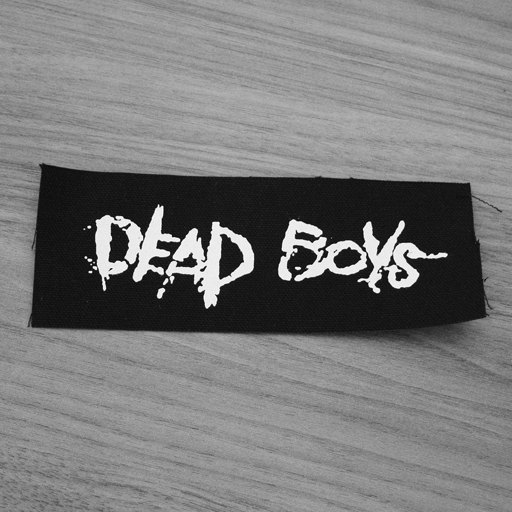 Dead Boys - White Logo (Printed Patch)