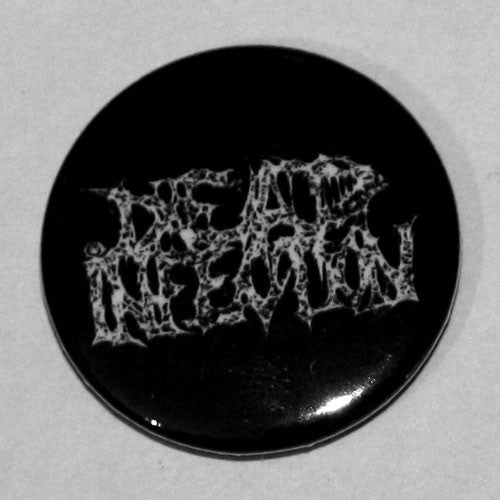Dead Infection - White Logo (Badge)