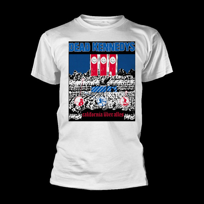 Dead Kennedys - California Uber Alles (White) (T-Shirt)