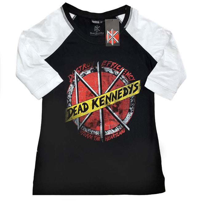 Dead Kennedys - Destroy Efficiency (Women's 3/4 Sleeve T-Shirt)