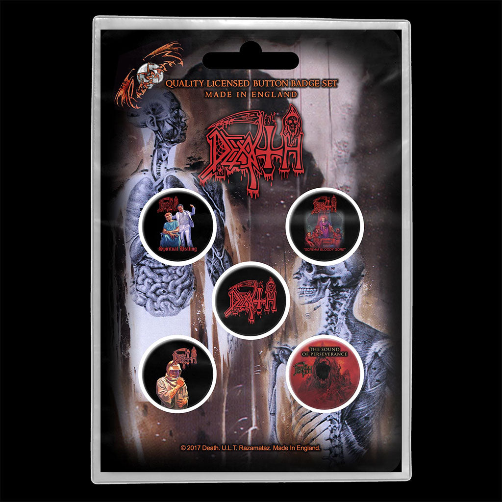 Death - Albums (Badge Pack)