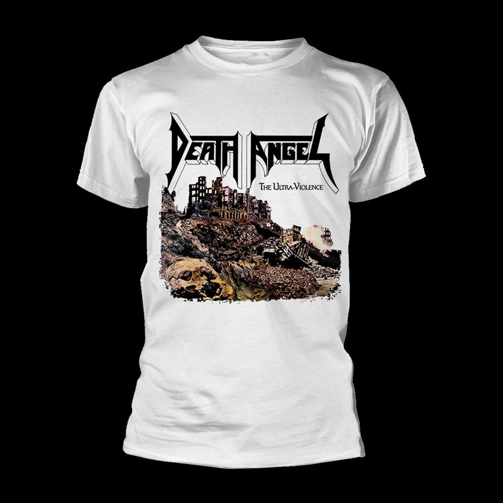 Death Angel - The Ultra-Violence (White) (T-Shirt)