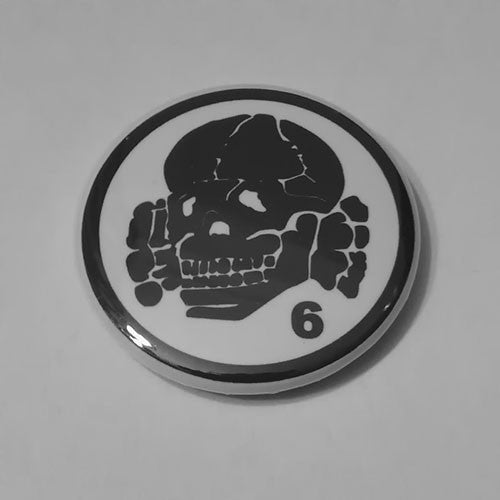 Death in June - Black Logo Totenkopf (Badge)