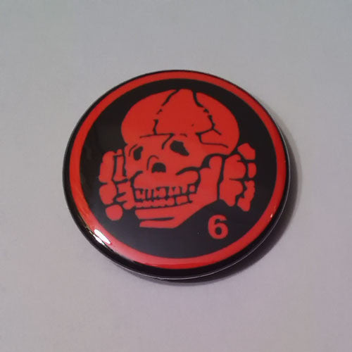 Death in June - Red Logo Totenkopf (Badge)