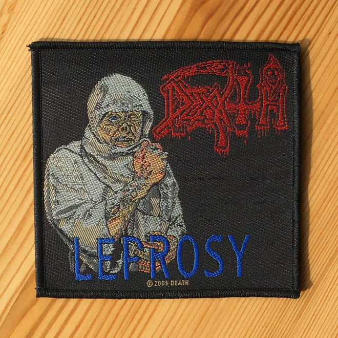 Death - Leprosy (Woven Patch)