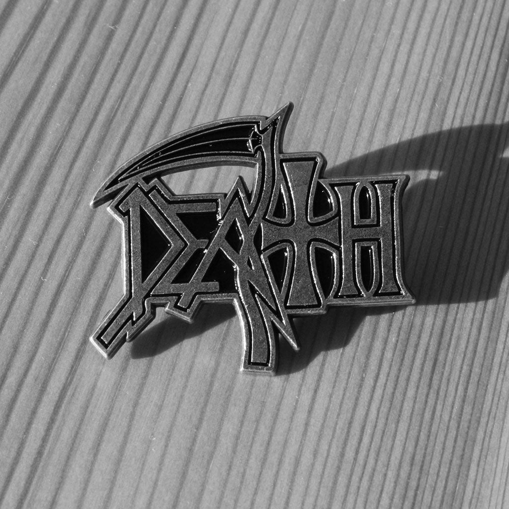 Death - Logo (Metal Pin)