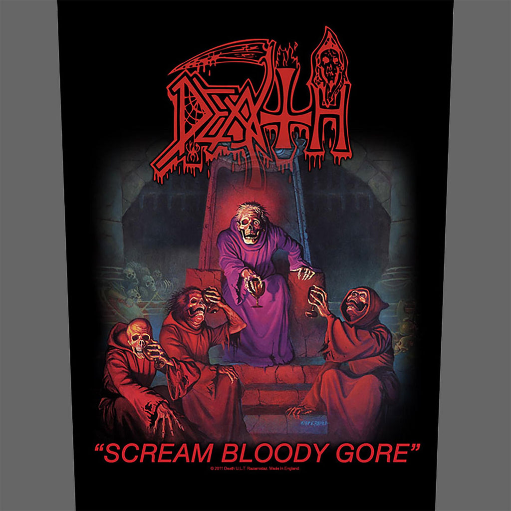 Death - Scream Bloody Gore (Backpatch)