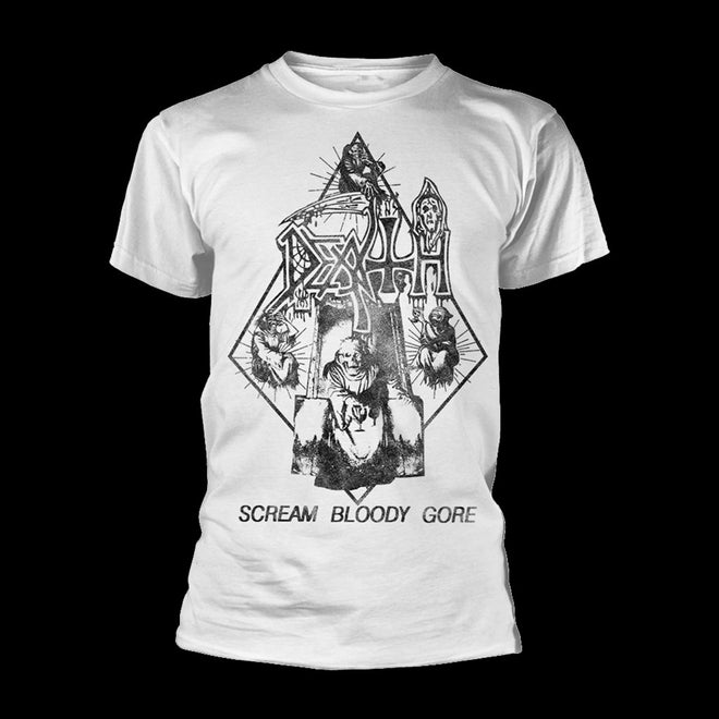 Death - Scream Bloody Gore (Light Ray) (Vintage Wash) (T-Shirt - Pre-order: 2/10/2020)