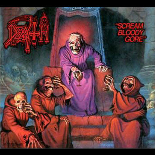 Death - Scream Bloody Gore (Sticker)