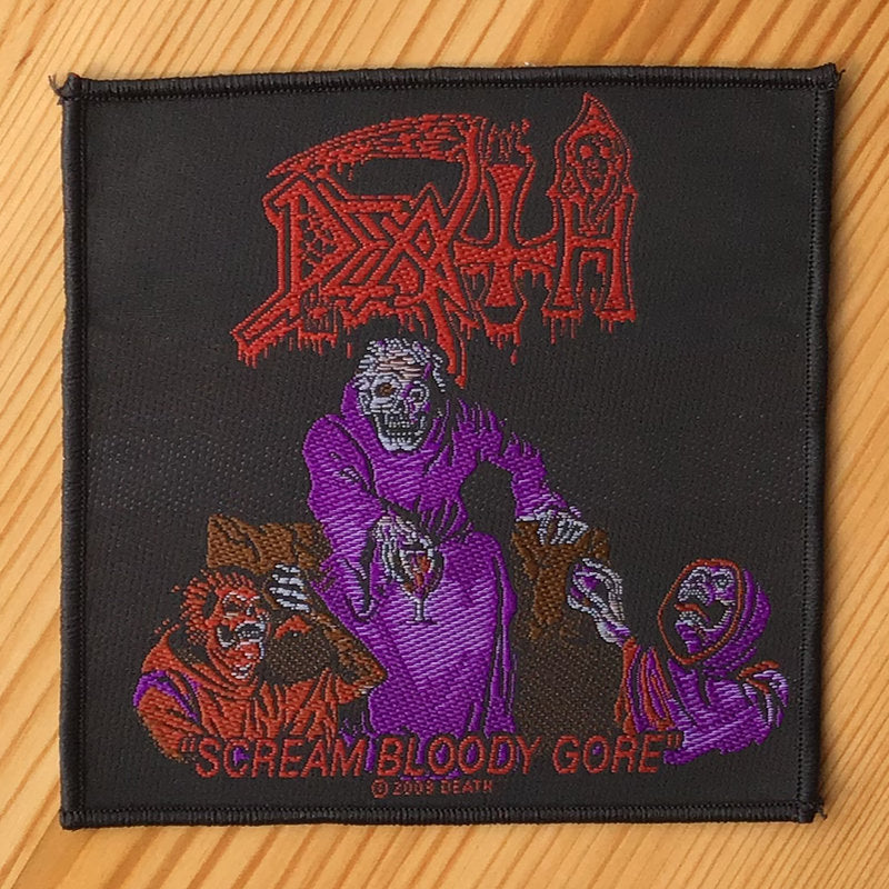 Death - Scream Bloody Gore (Woven Patch)
