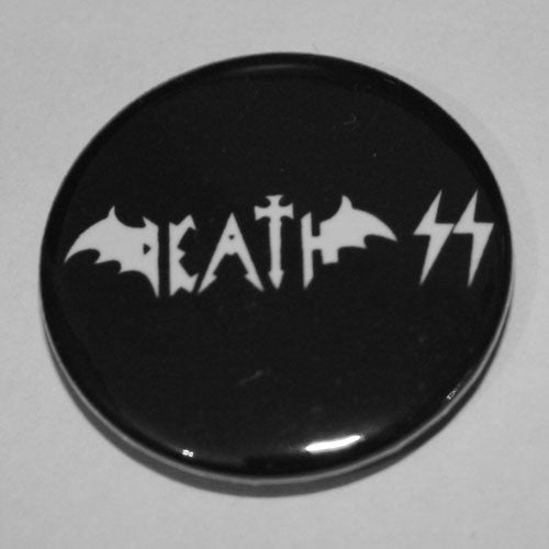 Death SS - White Logo (Badge)