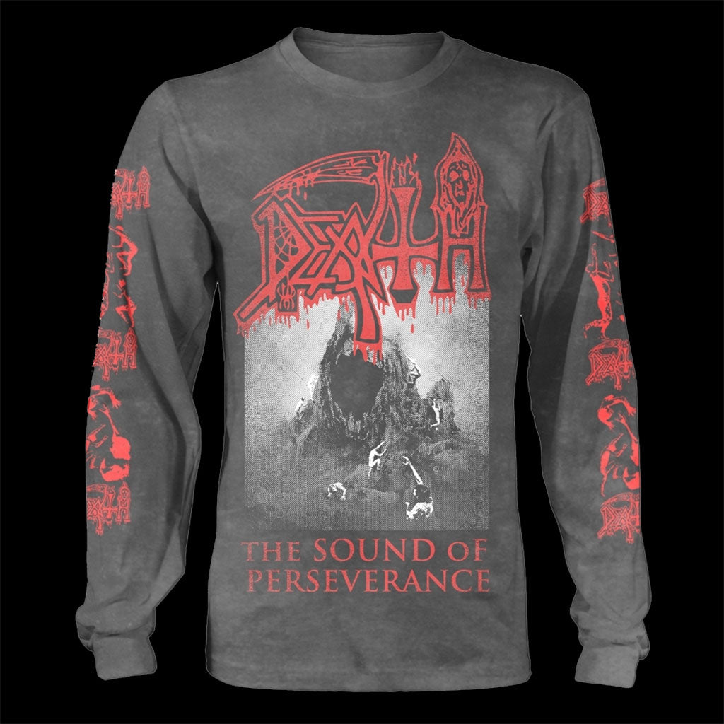 Death - The Sound of Perseverance (Vintage Wash) (Long Sleeve T-Shirt)