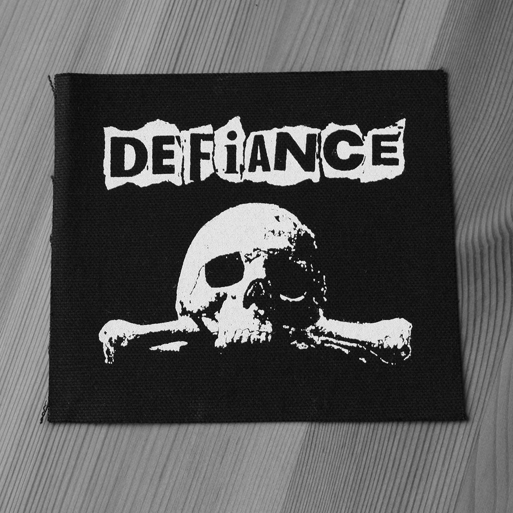 Defiance - Logo & Skull (Printed Patch)