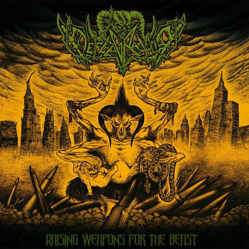 Deflagrator - Raising Weapons for the Beast (CD)
