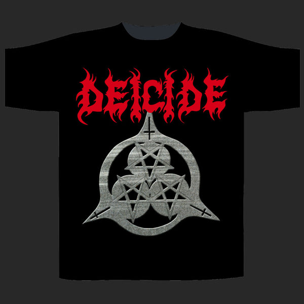Deicide - Once Upon the Cross Symbol (T-Shirt ...