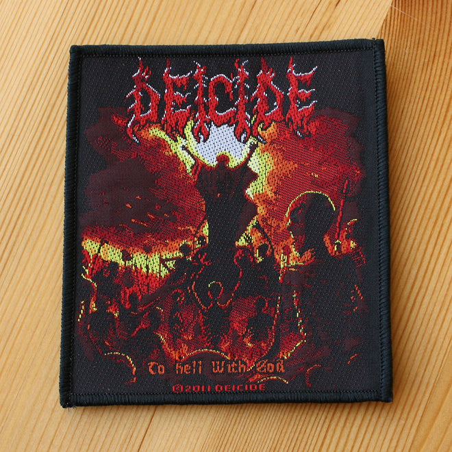 Deicide - To Hell with God (Woven Patch)