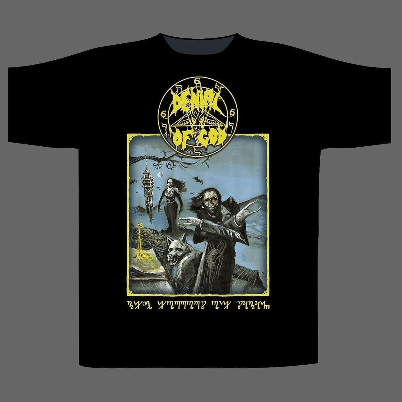 Denial of God - The Horrors of Satan (T-Shirt)
