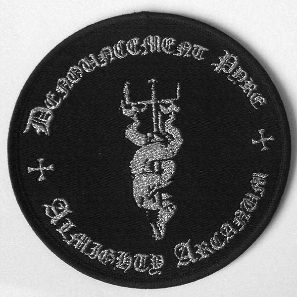 Denouncement Pyre - Almighty Arcanum (Circle) (Woven Patch)