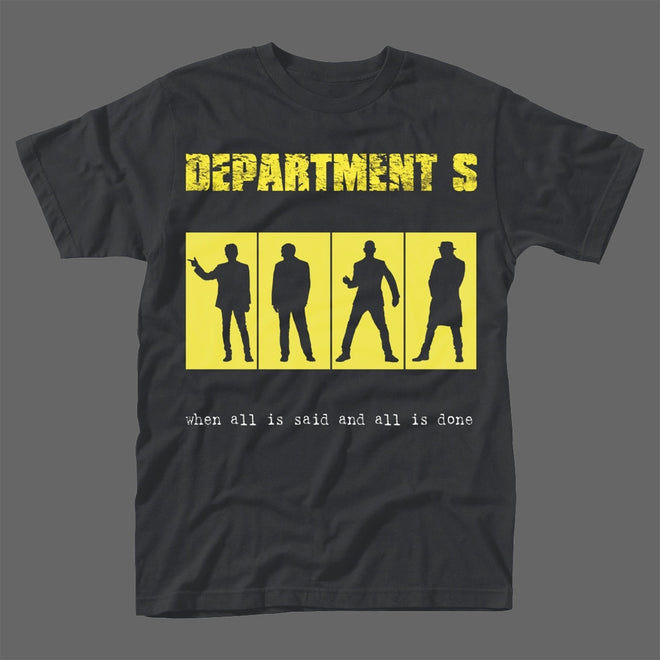 Department S - When All is Said and All is Done (T-Shirt)