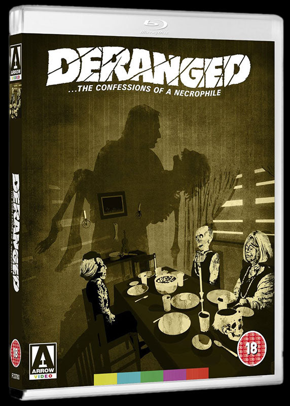 Deranged: Confessions of a Necrophile (1974) (Blu-ray + DVD)