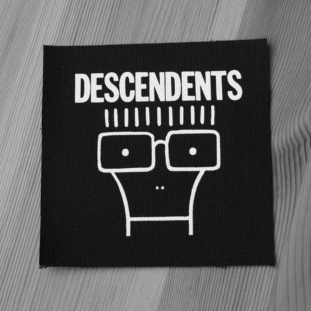 Descendents - White Logo & Milo (Printed Patch)