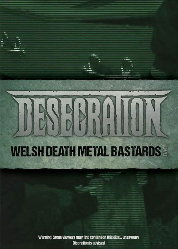 Desecration - Welsh Death Metal Bastards (DVD)