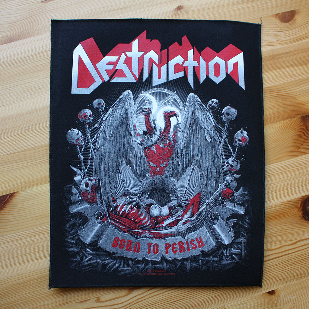 Destruction - Born to Perish (Backpatch)