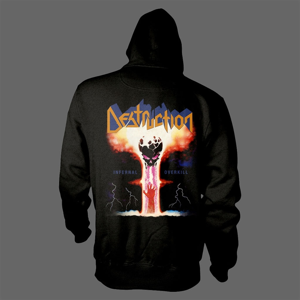 Destruction - Infernal Overkill (Full Zip Hoodie)