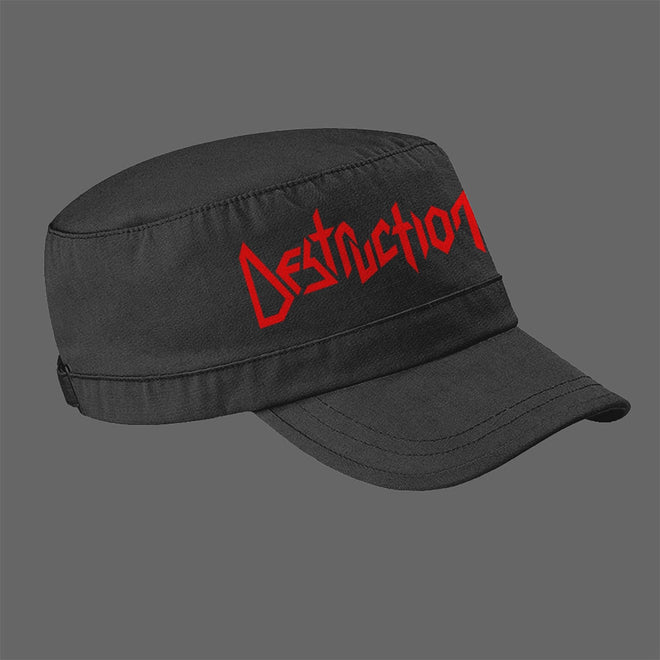 Destruction - Logo (Army Cap)