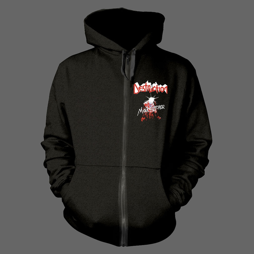 Destruction - Mad Butcher (Full Zip Hoodie)