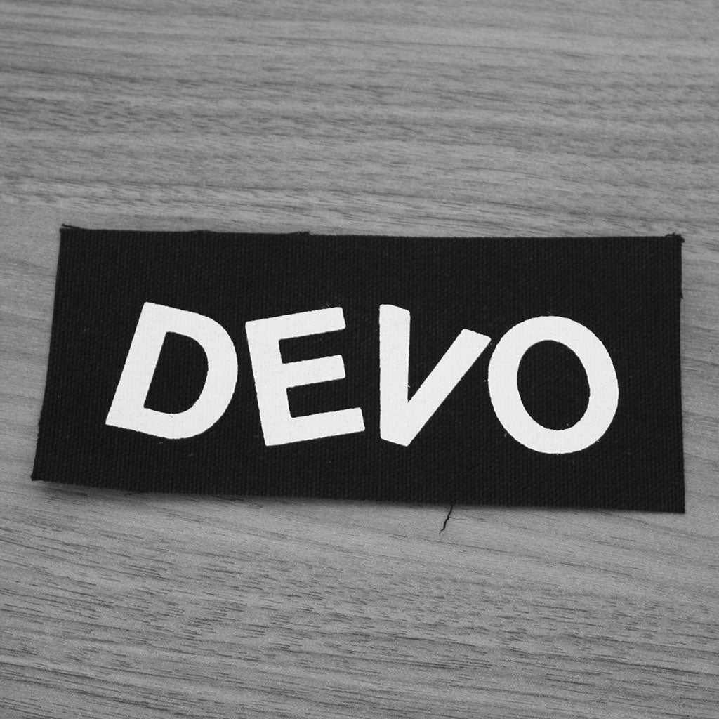 Devo - Logo (Printed Patch)