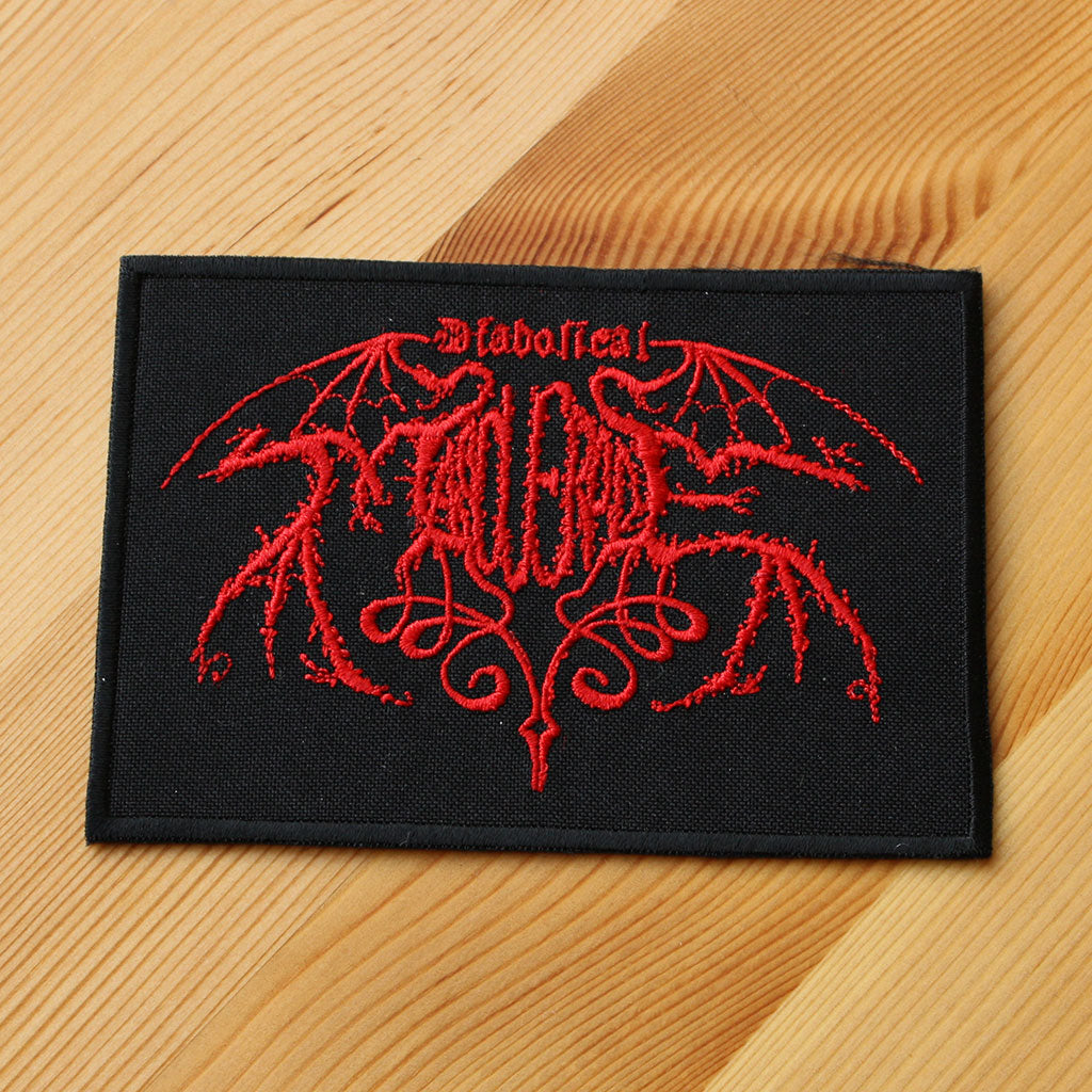 Diabolical Masquerade - Red Logo (Embroidered Patch)
